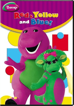 Barney: Red, Yellow, and Blue! [DVD]