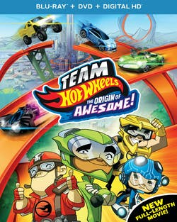 Team Hot Wheels: The Origin of Awesome! (DVD + Digital) [Blu-ray]