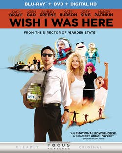 Wish I Was Here (DVD + Digital) [Blu-ray]