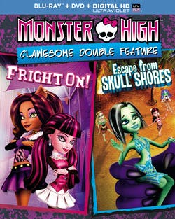 Monster High: Clawesome Double Feature (DVD + Digital) [Blu-ray]