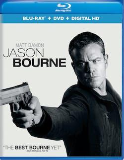 Jason Bourne (DVD + Digital) [Blu-ray]