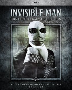 The Invisible Man: Complete Legacy Collection (Box Set) [Blu-ray]