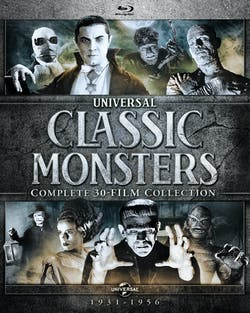 Universal Classic Monsters: Complete 30-Film Collection (Box Set) [Blu-ray]