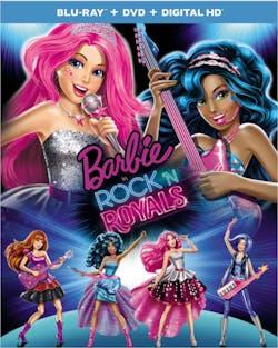 Barbie in Rock 'N' Royals (DVD + Digital) [Blu-ray]