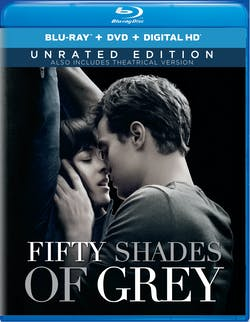 Fifty Shades of Grey (Unrated Edition DVD + Digital) [Blu-ray]