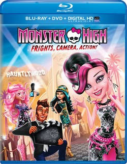 Monster High: Frights, Camera, Action! (DVD) [Blu-ray]