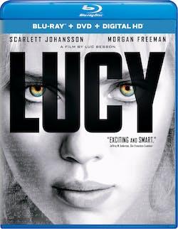 Lucy (DVD + Digital) [Blu-ray]