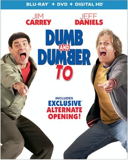 Dumb and Dumber To (DVD + Digital) [Blu-ray]