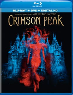Crimson Peak (DVD) [Blu-ray]