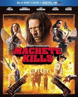 Machete Kills (DVD + Digital + Ultraviolet) [Blu-ray]