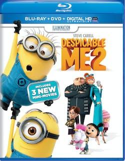 Despicable Me 2 (DVD + Digital) [Blu-ray]