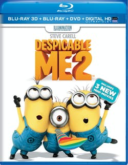 Despicable Me 2 3D (DVD + Digital) [Blu-ray]