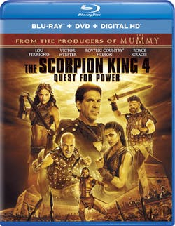 The Scorpion King 4: Quest for Power (DVD + Digital) [Blu-ray]