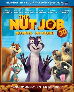 The Nut Job 3D (DVD + Digital + Ultraviolet) [Blu-ray]