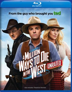 A Million Ways to Die in the West [Blu-ray]