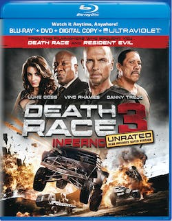 Death Race: Inferno (Unrated Edition) [Blu-ray]