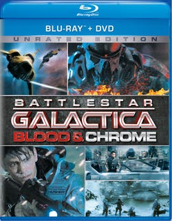 Battlestar Galactica: Blood and Chrome (Unrated Edition) [Blu-ray]