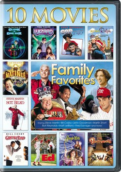 Family Favorites: 10-Movie Collection (Box Set) [DVD]