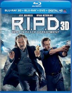 R.I.P.D. 3D (DVD + Digital) [Blu-ray]