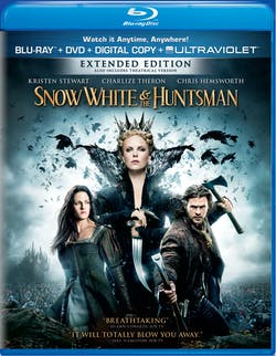 Snow White and the Huntsman (Extended Edition Digital + Ultraviolet) [Blu-ray]