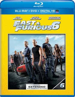 Fast & Furious 6 (Extended Edition) [Blu-ray]