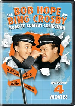 The Bob Hope and Bing Crosby Road to Comedy Collection [DVD]