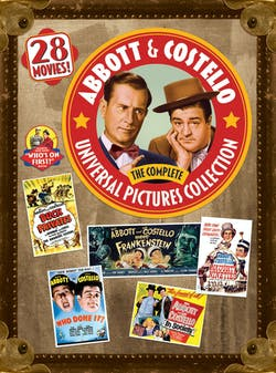 Abbott & Costello: The Complete Universal Pictures Collection [DVD]