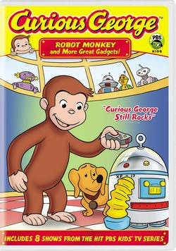 Curious George: Robot Monkey and More Great Gadgets! [DVD]