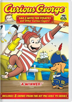 Curious George: Sails with the Pirates and Other Curious Capers! [DVD]