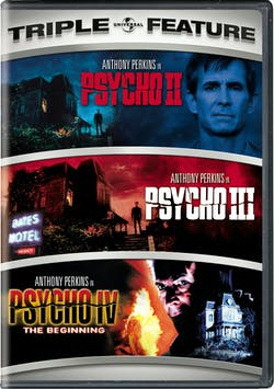Psycho II/Psycho III/Psycho IV: The Beginning [DVD]