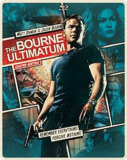 The Bourne Ultimatum (Limited Edition Comic Art Steelbook) [Blu-ray]