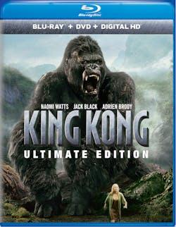 King Kong (Ultimate Edition DVD + Digital) [Blu-ray]