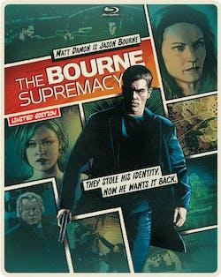 The Bourne Supremacy (Limited Edition Comic Art Steelbook) [Blu-ray]