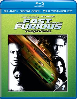 The Fast and the Furious (Digital + Ultraviolet) [Blu-ray]