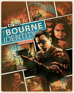 The Bourne Identity (Limited Edition Steelbook) [Blu-ray]
