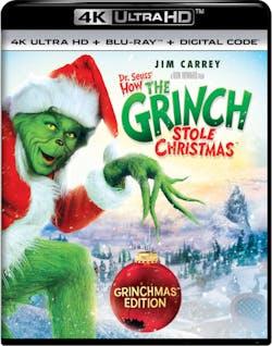 Dr. Seuss' How The Grinch Stole Christmas (Grinchmas Edition - 4K Ultra HD + Digital) [UHD]