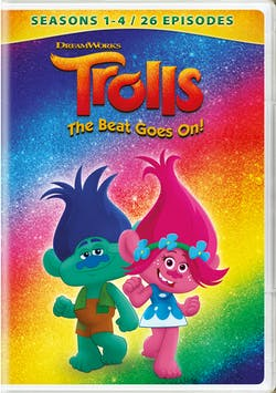 Trolls: The Beat Goes On! - Seasons 1 - 4 (2019) [DVD]