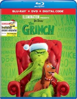 Illumination Presents: Dr. Seuss' The Grinch (DVD + Digital) [Blu-ray]