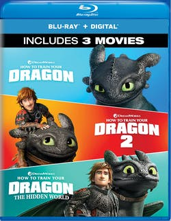 How to Train Your Dragon: 1-3 [Blu-ray]
