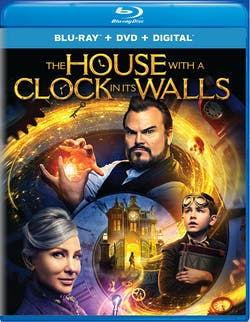 The House With a Clock in Its Walls (DVD + Digital) [Blu-ray]