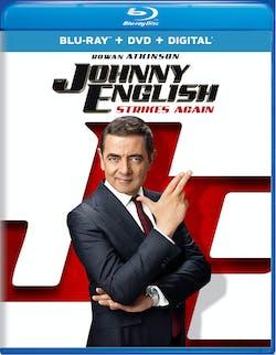 Johnny English Strikes Again (DVD + Digital) [Blu-ray]