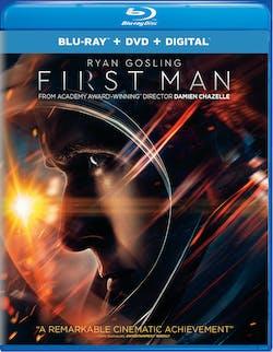 First Man (DVD + Digital) [Blu-ray]