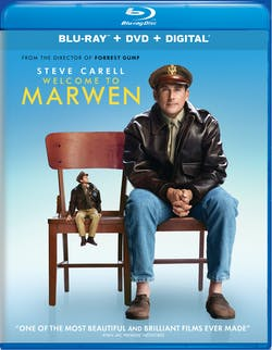 Welcome to Marwen (DVD + Digital) [Blu-ray]