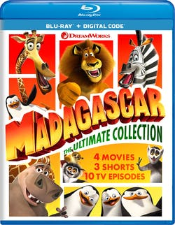 Madagascar: The Ultimate Collection [Blu-ray]