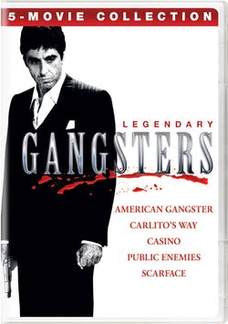 Legendary Gangsters: 5-Movie Collection (2019) [DVD]