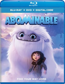 Abominable (DVD + Digital) [Blu-ray]