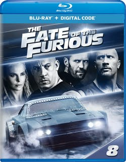 Fast & Furious 8: The Fate of the Furious (Digital) [Blu-ray]