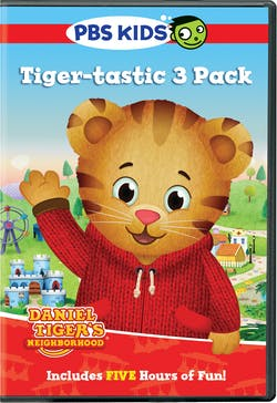 Daniel Tiger's Neighborhood: Tiger-tastic 3 Pack [DVD]