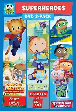 PBS Kids: Super Hero 3 Pack [DVD]