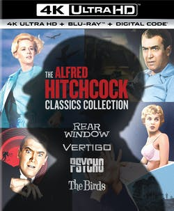 The Alfred Hitchcock Classics Collection (4K Ultra HD) [UHD]